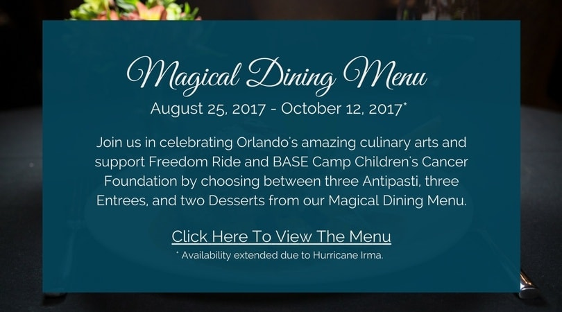 Magical Dining Menu Extended Due To Irma - mobile