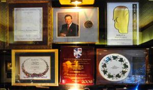 Awards won by Chris Chirstini and Christini's Ristorante Italiano